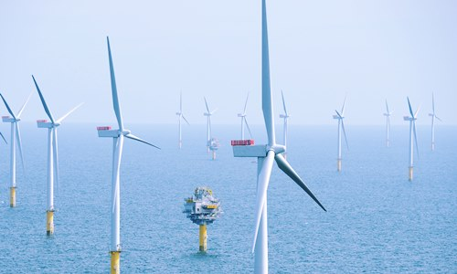 offshore wind farm off Choshi